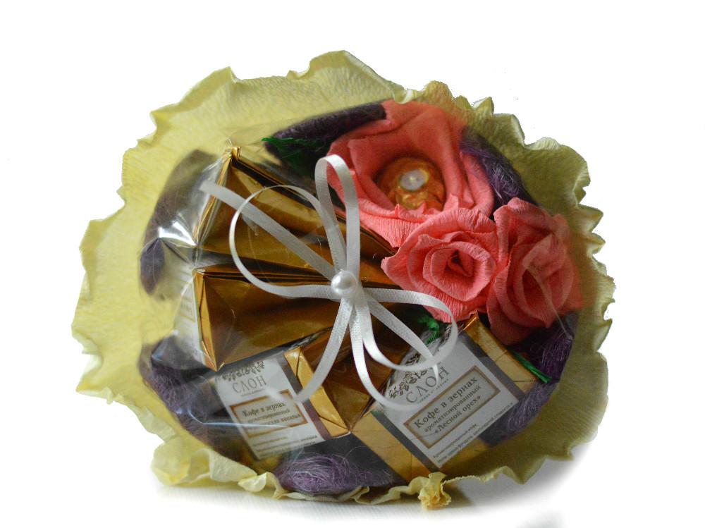 Как сделать подарочный букет из чая, лилий ростов доставка