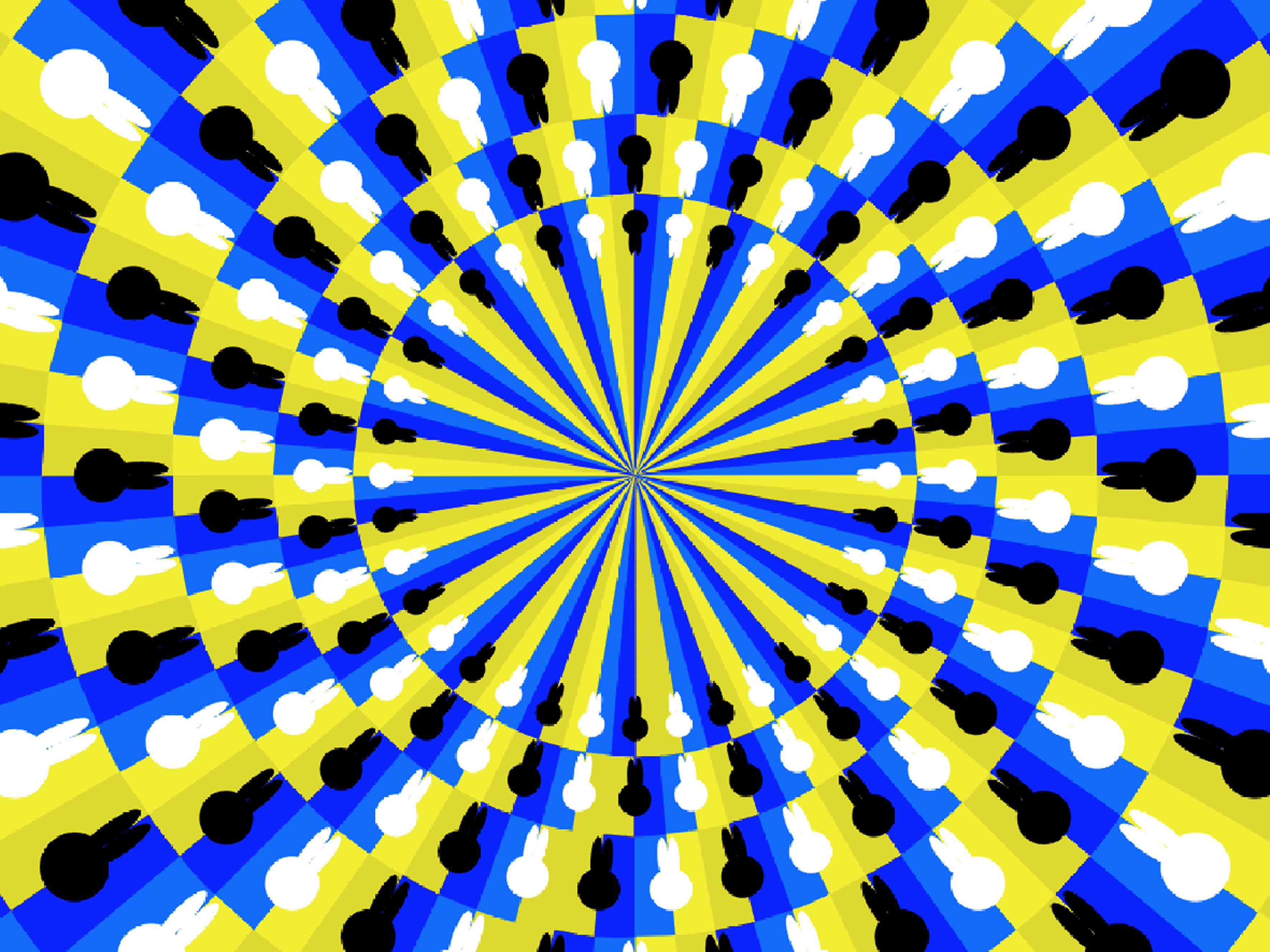 Картинка оптическая иллюзия