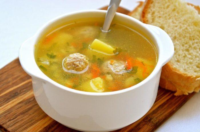как приготовить ребенку суп в годик