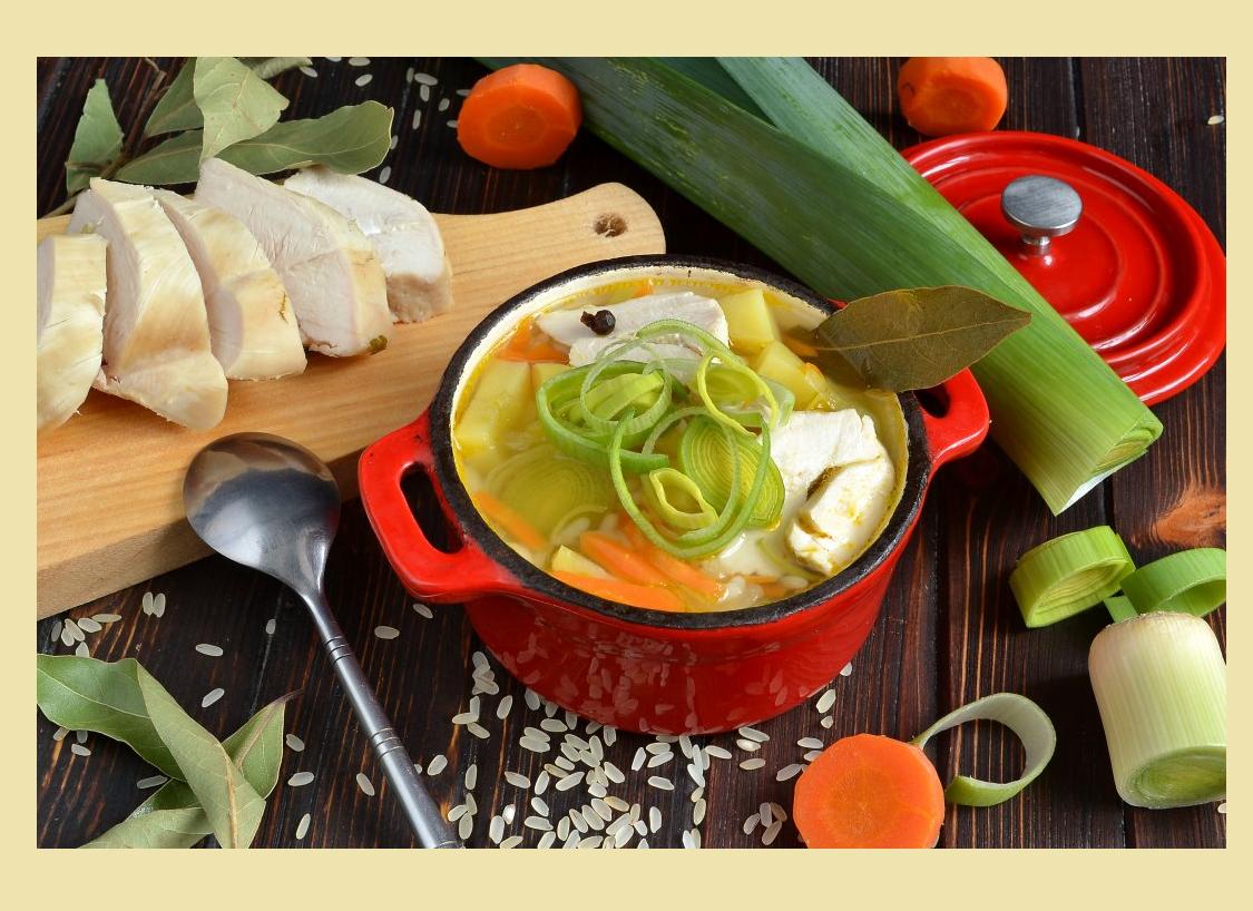 Суп постный из лука-порея — 3