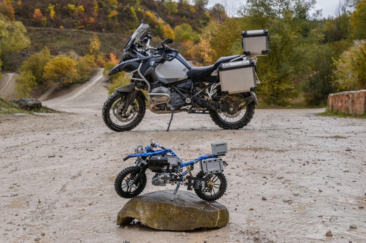 Как сделать из конструктора мотоцикл фото 308