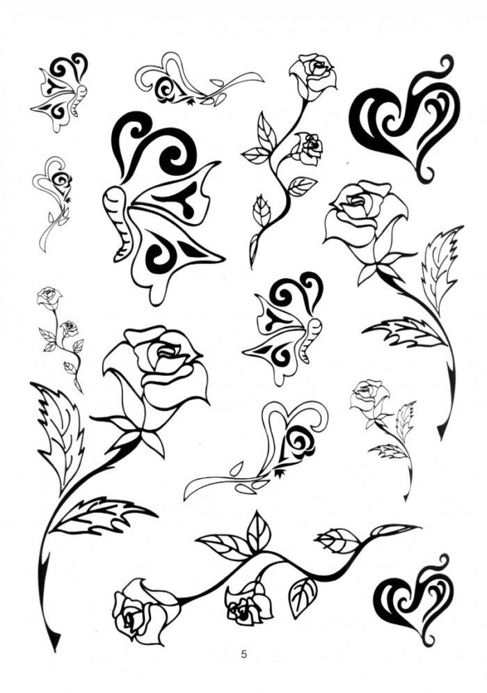 Шаблоны для татуировок для девушек