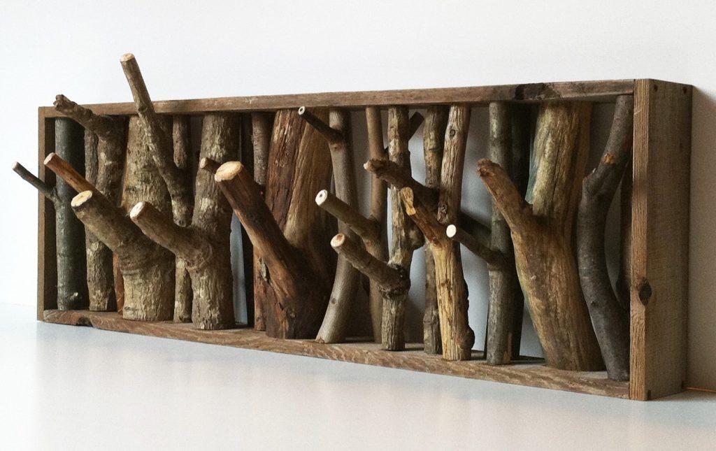 branch-coat-hanger-1 Декупаж ключницы с часами - мастер-класс с фото