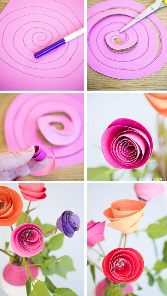 Красивые цветы из бумаги своими руками, яблочный спас преображение