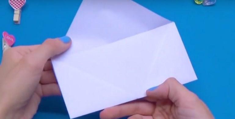 screenshot_5-6 Как сделать конверт из А4: своими руками поэтапно, для письма без клея и ножниц, большой и маленький, фото и видео